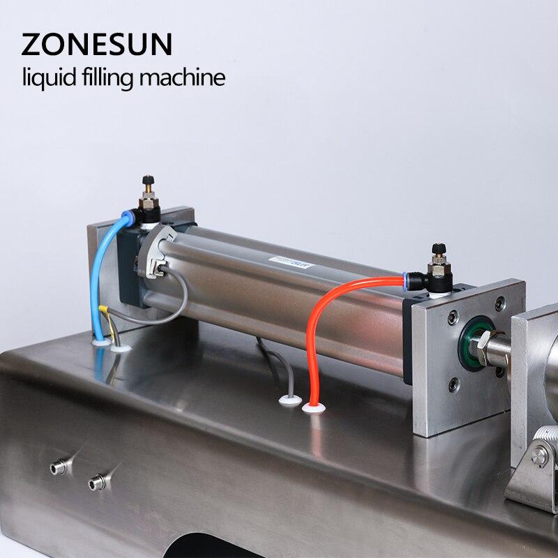 Image 5 - ZONESUN 10 300ml Pneumatic Volumetric Softdrin Liquid Filling Machine Pneumatic Liquid Filler Liquid Honey Soap  bottlemachine machinemachine fillingmachine for -
