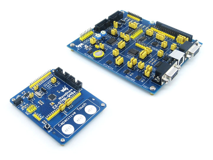 STM8 development board learning board core board STM8S105 STM8S105C4T6 attached Extensions atmega16a chip core avr scm development board learning board test board programmer with pins