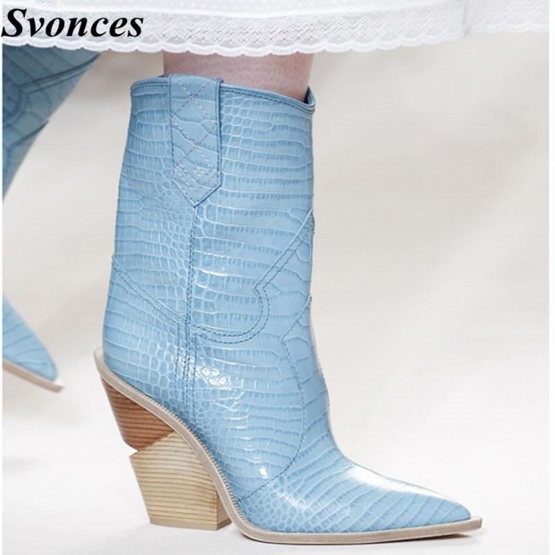 Light Blue Rain Boots