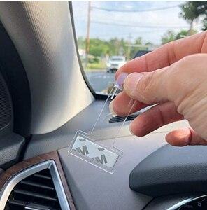 Автомобильный зажим для парковочных билетов из углеродного волокна для ford focus 3 kia sportage 2017 toyota chr skoda octavia suzuki jimny