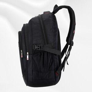 Image 4 - Mochila masculina sacos de viagem masculino multifuncional 15.6 polegada portátil à prova doxford água oxford computador mochilas para adolescente menino