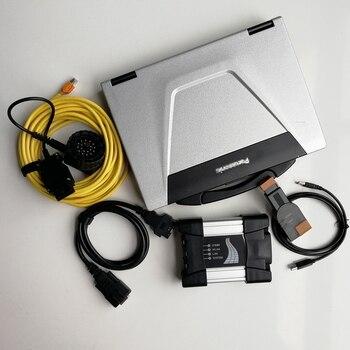 Modo experto de alta calidad para Bmw ICOM Next herramienta de diagnóstico V06.2020 Software 720GB SSD ISTA ordenador portátil usado toughbook cf52 I5 8G