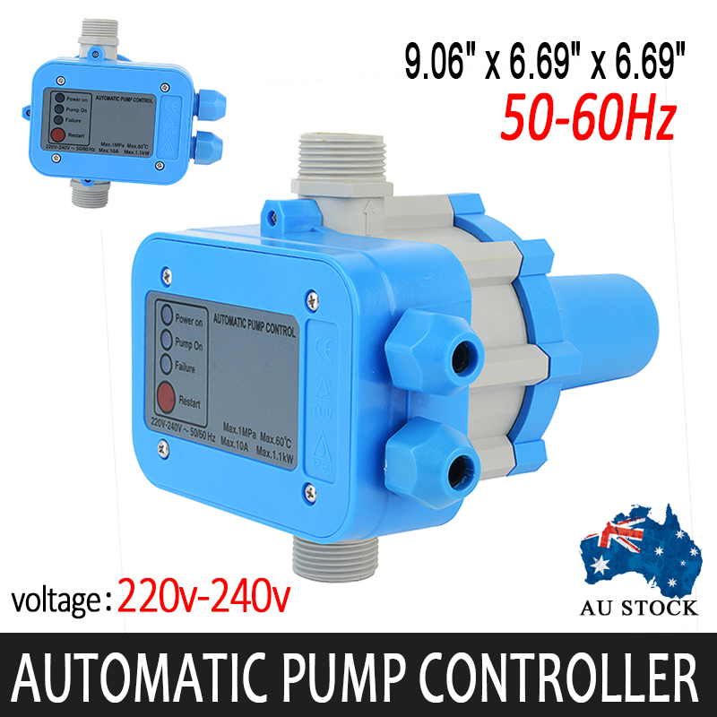 Mayitr Automatic Water Pump Pressure Controller Unit Electronic Switch Tank 220V-240V купить