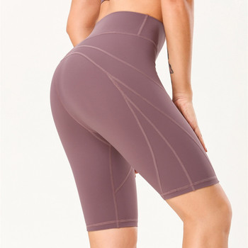 women compression seamless sports shorts