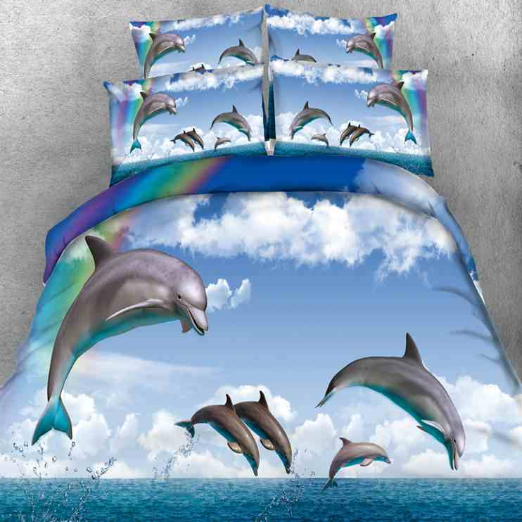 online buy wholesale dolphin comforter set from china