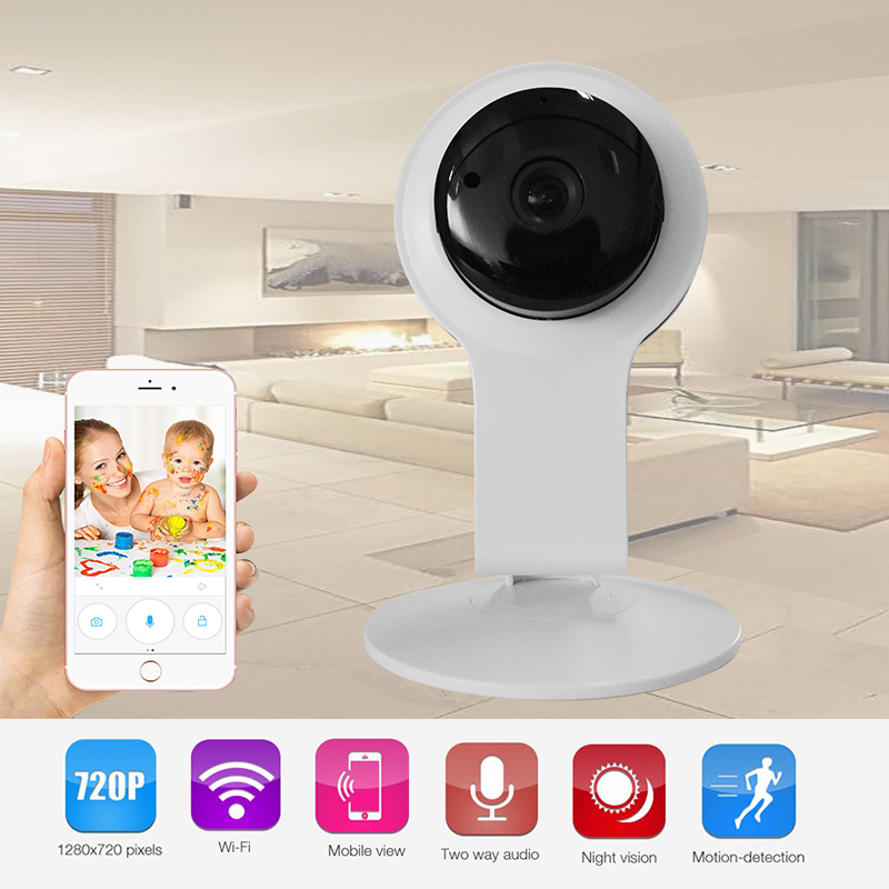 Howell Home Camera HD 720P WiFi Wireless IP Security Surveillance Camera for Baby /Elder/ Pet/Nanny Monitor with Night Vision