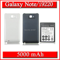 5000 мАч Расширенная Батарея + Задняя Крышка Для Samsung Galaxy Note GT N7000 i9220 GT-i9220 Аккумулятор Bateria Batterij Аккумулятор AKKU