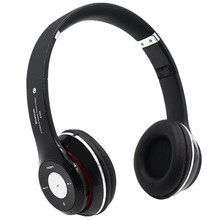 Bluetooth Wireless Headphone Portable Stereo Headset Music Audio With Microphone Support TF Card FM Radio For Iphone 7 6 Android