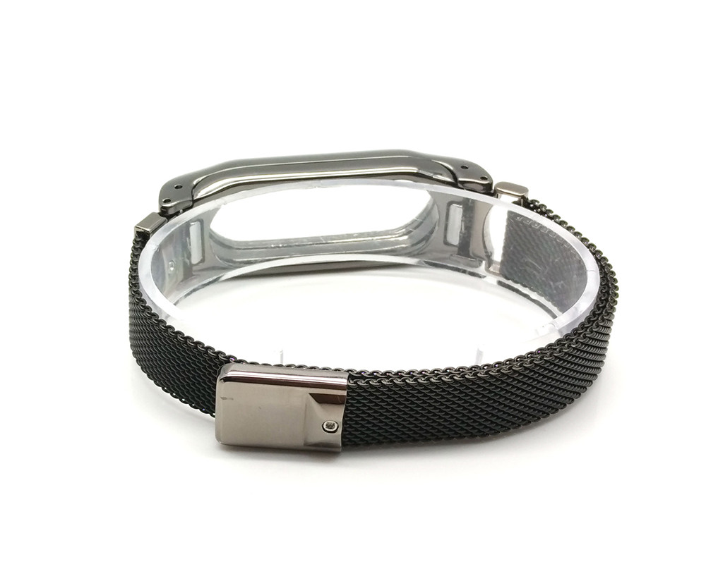 Luxury Milanese Loop Strap For Xiaomi Mi Band 2 Screwless Stainless Steel Bracelet Smart Band Replace Accessories For Mi Band 2 6
