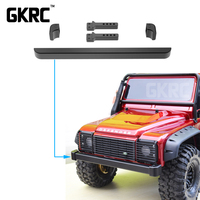 Classic Trx4 Metal Front Bumper for 1/10 Rc Crawler Traxxas Trx 4 Trx 4 Front Bumper Front Guardrail Front Collision Avoidance