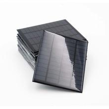 DIY для батареи 5V солнечная панель мини Солнечная система Телефон солнечная батарея 5,5 V зарядные устройства Портативные 70mA 80mA 100mA 110mA 160mA 180mA 291mA