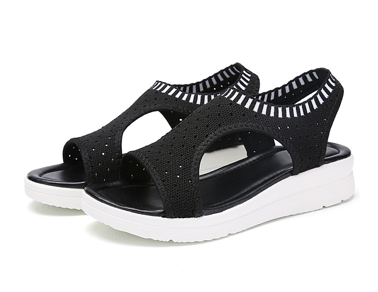 Mulheres Sandálias Para 2019 Conforto Respirável Compras
