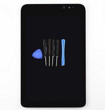 """100% nueva para Acer W4-820 8.0 """" táctil digitalizador cristal + ensamblaje de la pantalla lcd de la tableta herramientas gratuitas envío gratis! negro"""