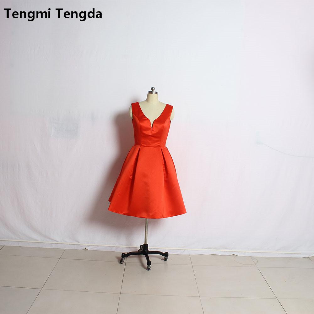 Nach Maß Neue Design Verschiedenen Stil Satin Brautjungfer Kleid  Rot Schwarz Navy Hochzeit Party Kleid Vestido Madriha De festa Longo ... 1bf850e827