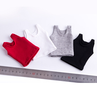 1 6 Scale Action Figure Clothes Vest Model 4 Colors For 12 Inches Male Female Body
