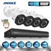 ANNKE 4CH 1080P HD CVI 5 0MP CCTV DVR With 2MP Cameras Video WDR Outdoor Home