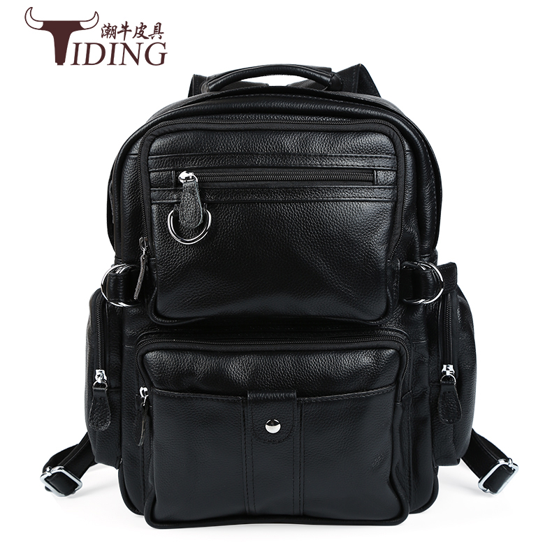 купить women backpack genuine leather 2017 Women Backpacks Fashion Design Female Casual School Bag for Girls Famous Brand Small bags по цене 7833.31 рублей