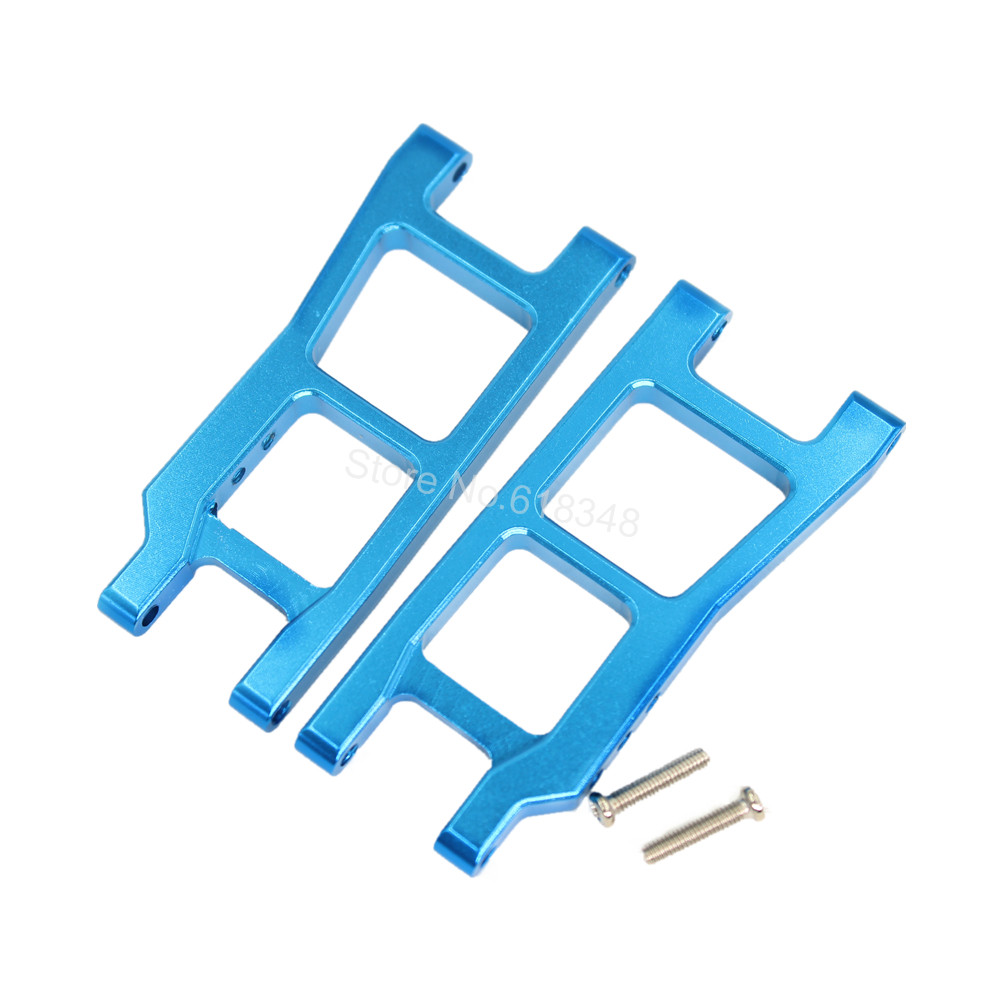 Aluminum Rear Lower Suspension Arm 2P L959-04 For WLtoys L959 L969 L979 K959 1/12 Scale Remote Comtrol RC Car Upgrade Parts