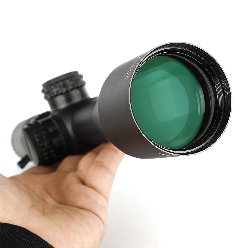 Dot Retículo Gravado em Vidro Paralaxe Lateral