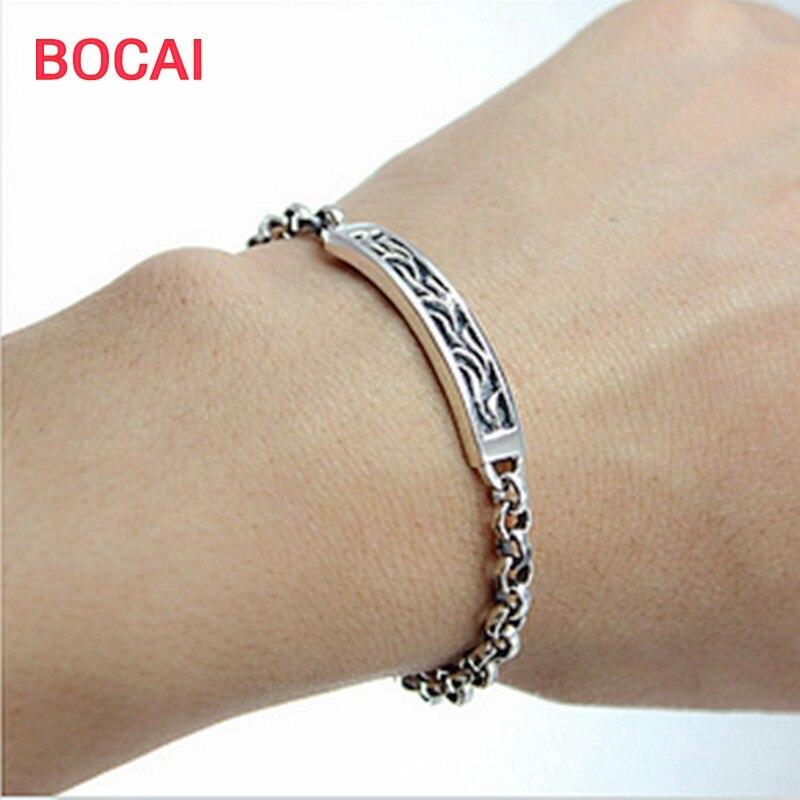 bracelet argent femme 23 cm