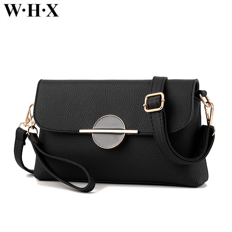 WHX Women Pu Leather Bag Fashion Women CrossBody Bag Shoulder Messenger Bag Female Handbag brand Purse Purple Pink Khaki Color whx new style casual fashion women tote bag crossbody bag female shoulder messenger bag leather cartoon cat bear sequin handbag