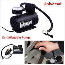 Универсальный мини 12 В 300psi электрический автомобиль Насосы для автомобиля Портативный сжатия воздуха шин накачки