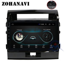 Android 8.1 2.5D Auto DVD GPS Navigatie voor TOYOTA LAND CRUISER 200 LC200 2008-2015 VXR GXR auto Radio stereo multimedia speler(China)