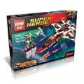 ЛЕПИН Super Heroes Avenjet Космической Миссии Building Block Набор Капитан Marvel Железный Человек Hyperion цифры 76049 Совместимость