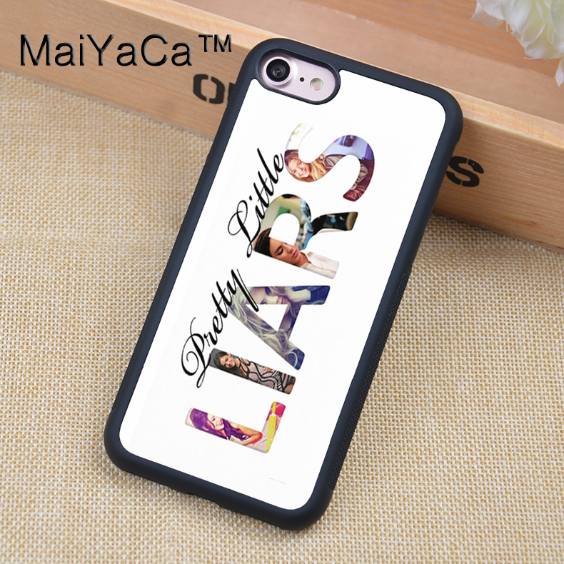 buy online 1b0cd e3216 US $4.34 5% OFF|MaiYaCa PLL Pretty Little Liars Printed Phone case For  iPhone 6 6s Soft TPU Full Protective Cover For iPhone 6 6s Cases Coque-in  ...