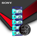 5 шт. Sony 100% оригинал 315 SR716 SR716SW EP2012 D315 батарейки с кнопкой серебряного цвета для мужчин женщин детей часы розничная карта