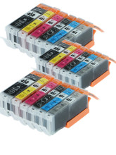 18X Ink Cartridges Replacement For Canon pgi450 cli451 pgi-450 cli-451 PIXMA MG5440 MG5540 IX6540 IX6840 IP8740