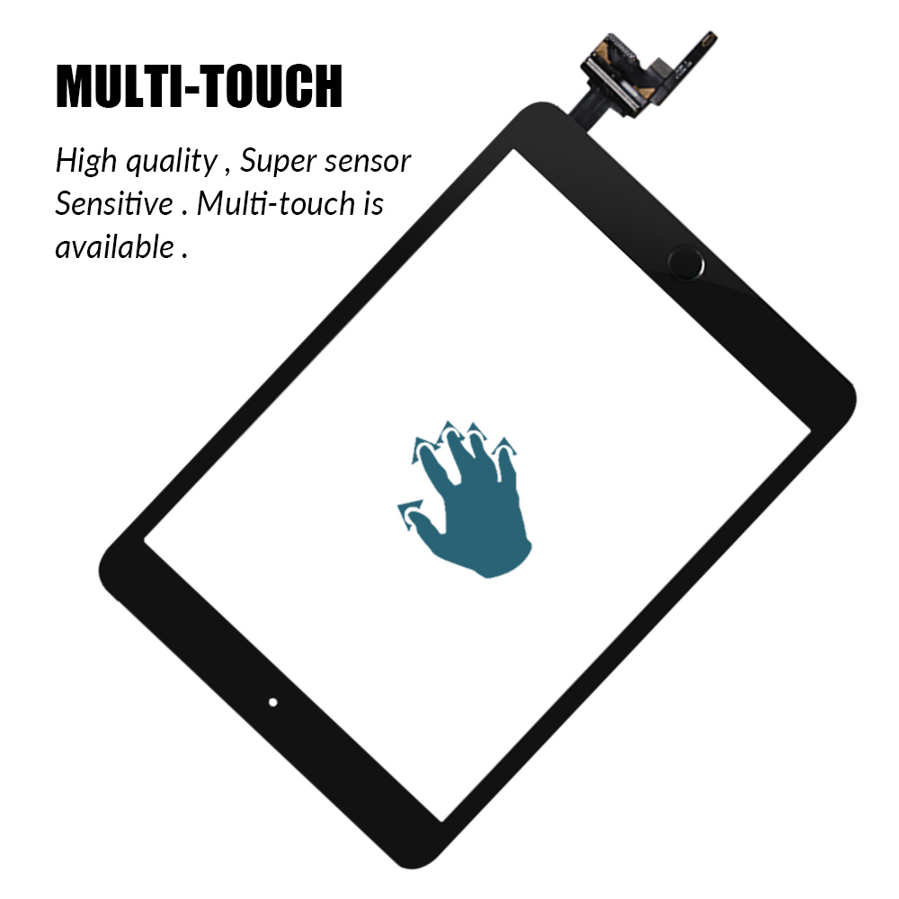 Image 2 - Touch Screen For iPad Mini 3 Mini3 A1599 A1600 A1601 7.9 Touch Digitizer Sensor with IC Connector+Home Button-in Mobile Phone LCD Screens from Cellphones & Telecommunications