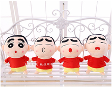 Plush toy 1pc 20cm 35cm cartoon funny red T shirt Crayon Shin-chan little doll children prize girl gift stuffed toy