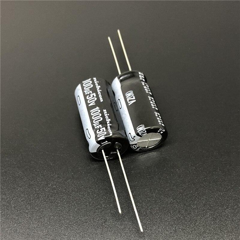 10pcs 100pcs 1000uf 50v Nichicon Vz Series 12 5x25mm