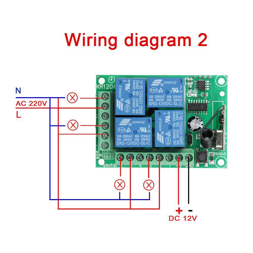 rf remote control switch circuit diagram   Graph Pedia