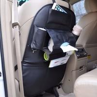 DWCX Car Multi Pocket Man Made Leather Seat Back Bag Organizer Storage Holder Tidy Pouch For VW BMW Mercedes Benz Mazda Honda