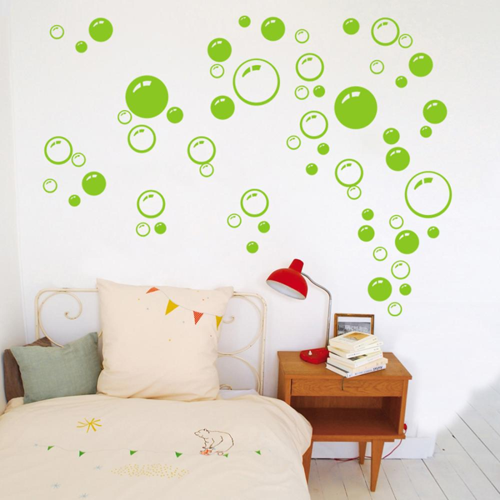 New Promotion Bubble Wall Art Bathroom Window Shower Tile Decoration ...