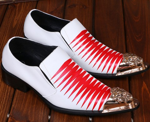 Handmade Men Gentleman Luxury shoes with Gold Patent Leather Buckle Fashion Party and wedding men dress shoes men's flats oxford