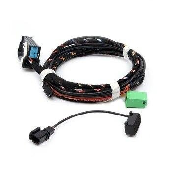 YYF OEM 1K8 035 730 D 9W2 módulo Bluetooth enchufe directo cableado Harnes micrófono para VW Golf, Tiguan Passat Polo RNS510 RCD510