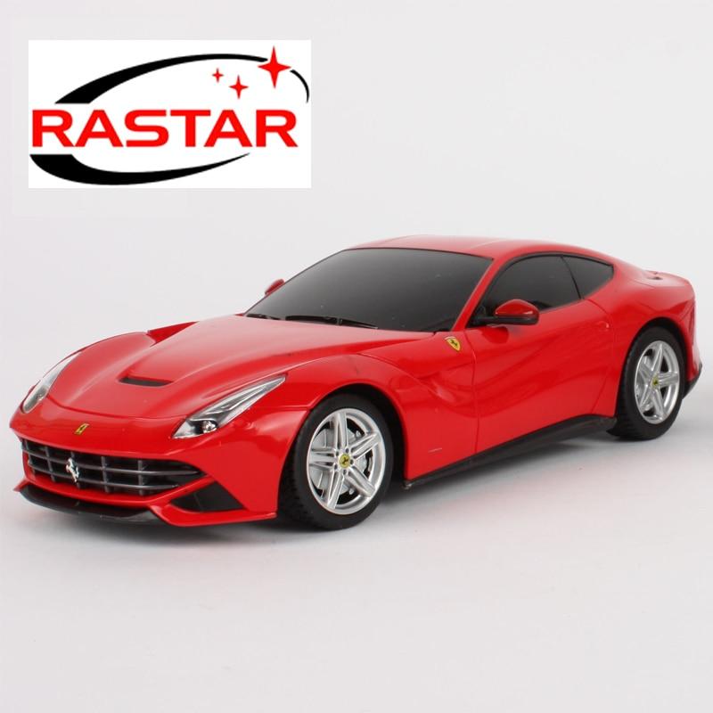 RC Cars for kids RASTAR 1:24 Ferrari FF 46700 rastar 1 24 ferrari ff 40 mhz 46700w белый