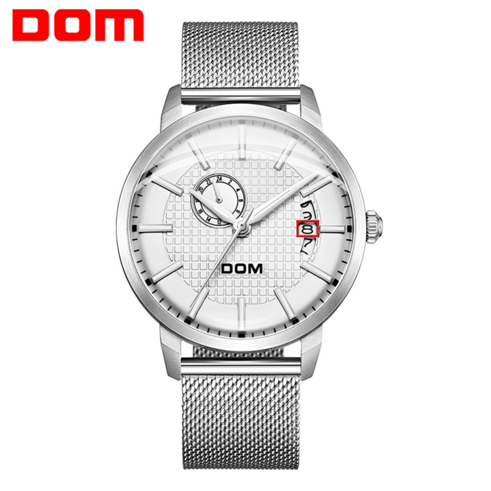 DOM Automatic Movement Men Watch Top Brand Luxury Men Mechanical Watch Fashion Stainless Steel Strap Relogio Masculino  M-8111DOM Automatic Movement Men Watch Top Brand Luxury Men Mechanical Watch Fashion Stainless Steel Strap Relogio Masculino  M-8111
