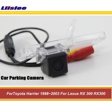 Samochodowa kamera cofania dla Toyota Harrier Lexus RX300 1998-2003 tylna kamera SONY tanie tanio Liislee CN (pochodzenie) Plastikowe + Szkło Drutu Pojazd backup kamery Z tworzywa sztucznego For Toyota Harrier Lexus RX300 1998