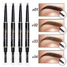 BearPaw Brown Eyebrow Pencil Tint Cosmetics Natural Long Lasting Paint Tattoo Eyebrow Waterproof Black Eyebrow Pencil Makeup