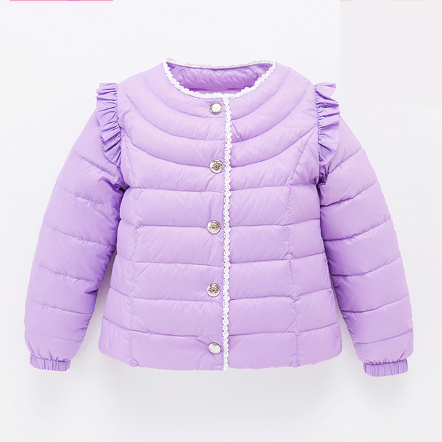 Baby Snow Jacket Winter Thermal Overalls Duck Thick Coat Meisjes Winterjas Children Winter Infant Down Coat Jacket 60Z005A