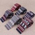 Trendy Floral Tie Cravat Acessórios Da Marca dos homens Novos Tricô Cravata Amarrar Gravatas Para Homens Populares Ternos Formais Gravata Para partido