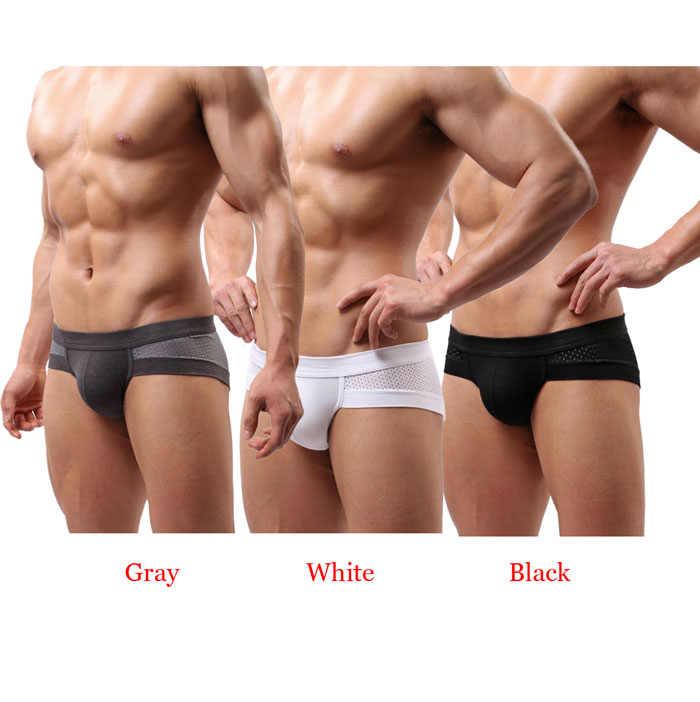 เซ็กซี่ชุดชั้นในผู้ชายชุดชั้นในผ้าฝ้ายกางเกงขาสั้นกางเกงนักมวยSoft Boxer Hommeกางเกงกางเกงบ็อกเซอร์กางเกงขาสั้นเกย์ชายกางเกง