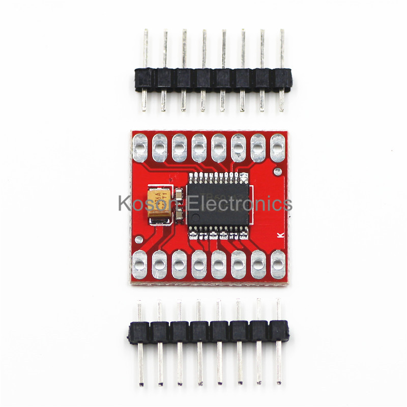 Dual Motor Driver 1A TB6612FNG Microcontroller Better Than L298N NOW THE CHIP IS DRV8833