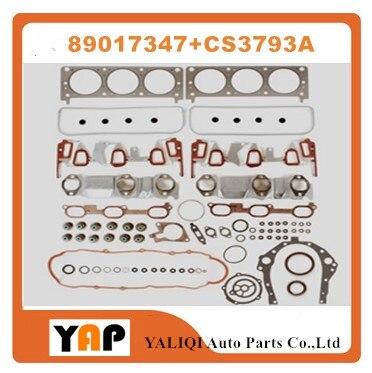 Revisione guarnizioni motore kit per fitchevrolet impala monte carlo venture gl8 buick rendezvous 3.0 3.1 3.4 v6 12 v 89017347 + cs3793a
