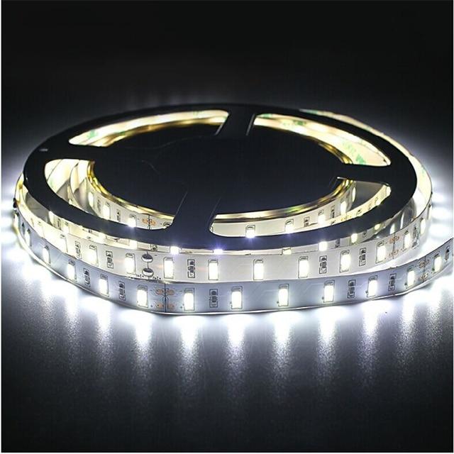 5 m/roll LED şerit SMD 5630 LED softstrip 24 V DC IP20, IP65, IP67 sıcak beyaz, soğuk beyaz 18 W/M ultra yüksek parlaklık led bant