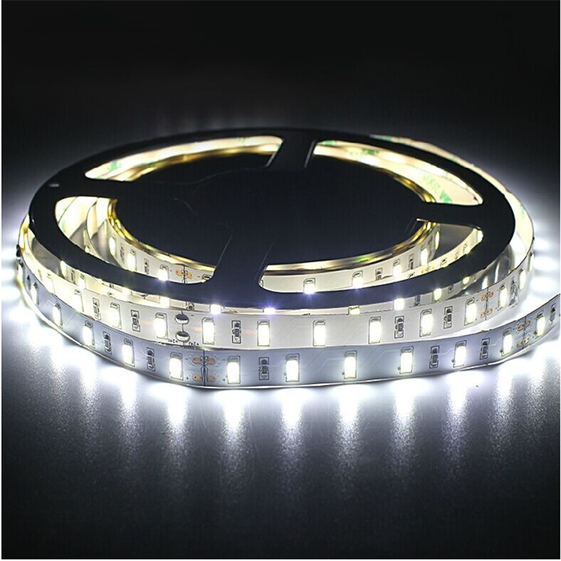 5 m / roll LED strip SMD 5630 LED softstrip 24 V DC IP20, IP65, IP67 putih hangat, putih dingin 18 W / M kecerahan ultra tinggi pita